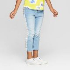 Toddler Girl Embroidered Skinny Jeans